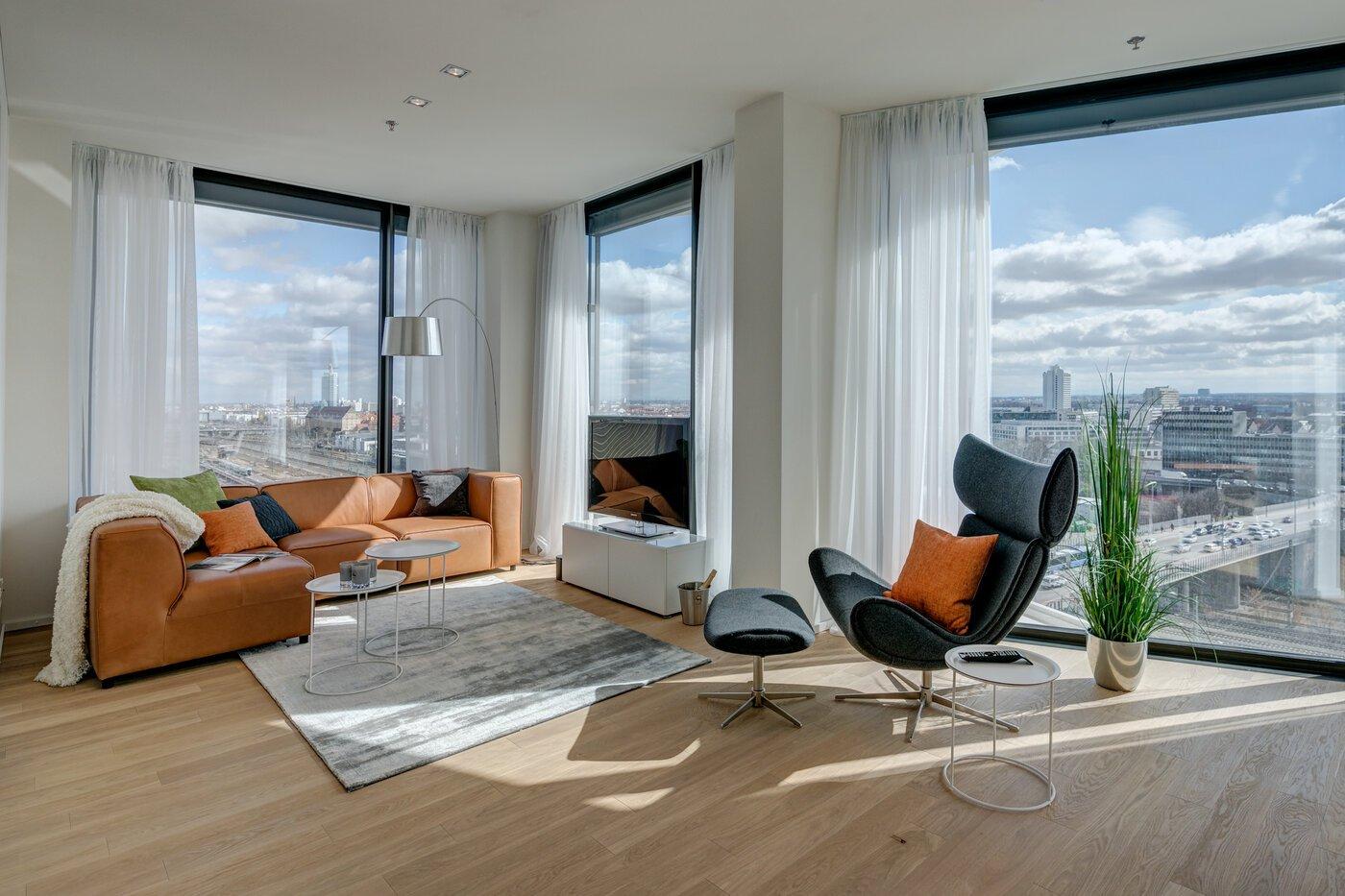 4-Zimmer Wohnung | möbliert | Concierge | München-Nymphenburg | 10451