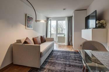 1 Zimmer Wohnung Möbliert Internet Flatrate München